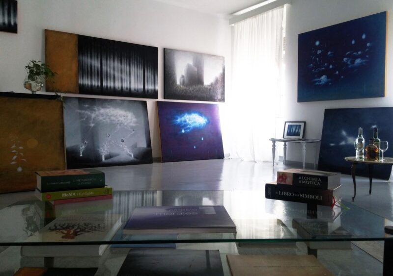 Morales' studio