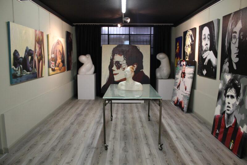 Vendramin's studio